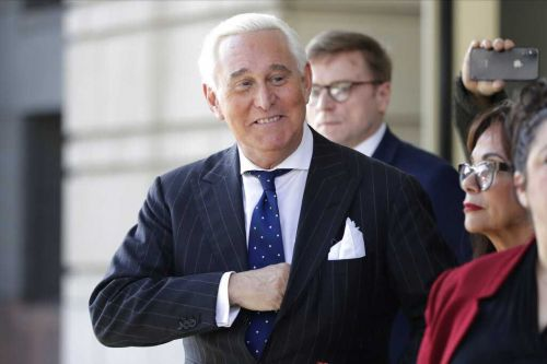 President Donald Trump commutes sentence of ally Roger Stone