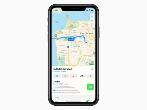 Seattle and more areas in California get cycling directions for Apple Maps