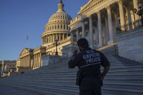 Capitol Police officer charged with obstructing Jan. 6 investigation