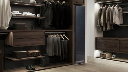 Samsung made a closet that disinfects your clothes