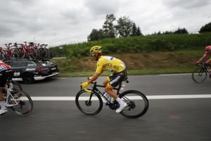 Alaphilippe still in yellow after first big Tour climb