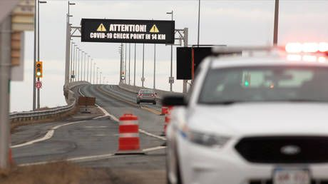 Canada's Ontario to set up Covid-19 checkpoints at borders with Quebec & Manitoba provinces to turn away 'non-essential travelers'