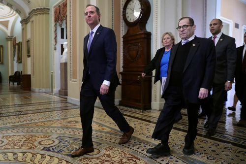 Dems unload 'overwhelming' impeachment case on the Senate - even as they press for more