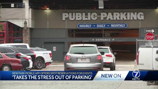 Park Omaha unveils new technology for reserving parking spots for events
