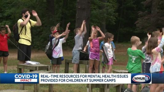 Mental health resources available for kids at summer camps
