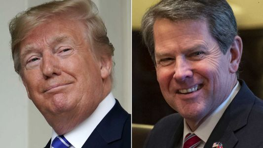 Reports: President Trump pressured Georgia governor to help overturn Biden's win in state