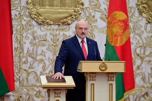 Thousands protest after Belarusian president quickly sworn in