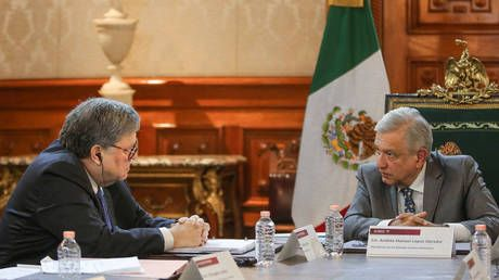 'Foreigners cannot intrude' in our country - Mexican president says after meeting US Attorney General Barr