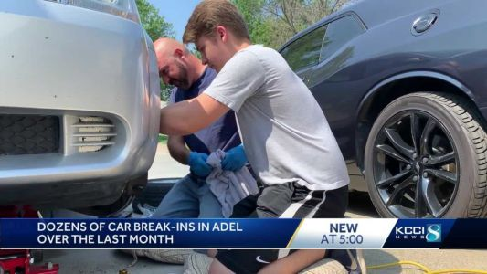 Adel drivers change habits after more than 44 car burglaries