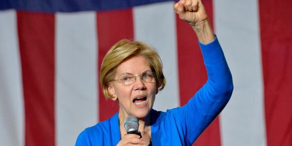 Elizabeth Warren's proposed wealth tax will raise $1 trillion less than expected and slow the economy, study finds