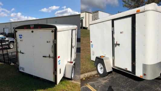 Trailer with thousands of meals for homeless veterans stolen