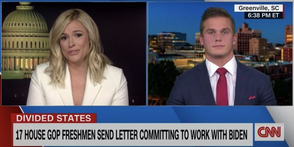 Rep. Madison Cawthorn, who sought to overturn Biden's win, admits that the election 'was not fraudulent' on CNN