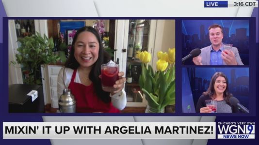 Mixin' it up with Argelia Martinez