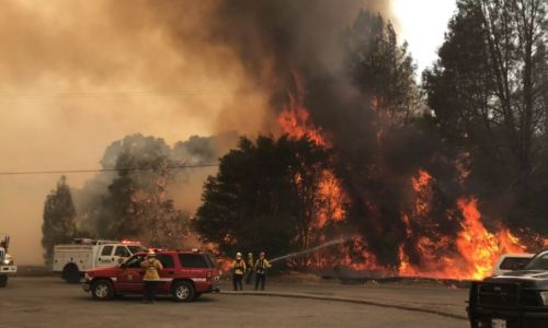 Red flag conditions fan flames across Northern California