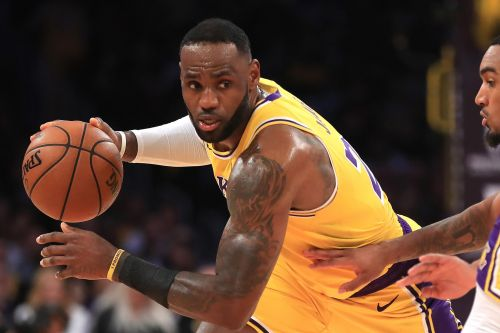 LeBron James sets a triple-double record in Lakers' win