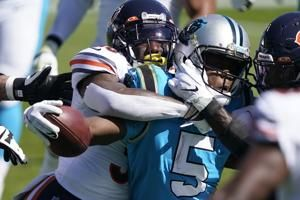 Panthers' offense 'humbled' after poor outing against Bears