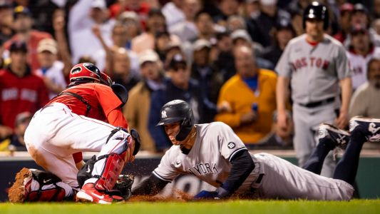 Yankees' Phil Nevin waves Aaron Judge home, results in easy out for Red Sox in wild-card game