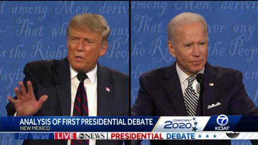 """KOAT political expert: """"This was a very chaotic and combative debate"""