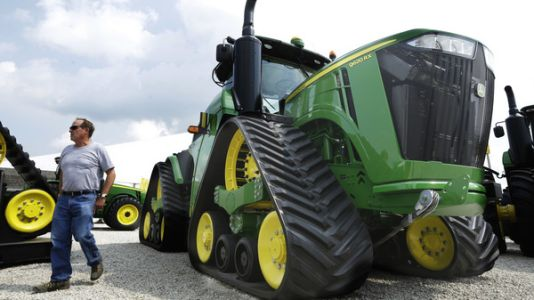 More than 10,000 John Deere workers go on strike over the failure to reach a contract