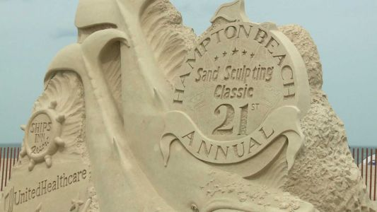Here are this year's award-winning sand sculptures at Hampton Beach