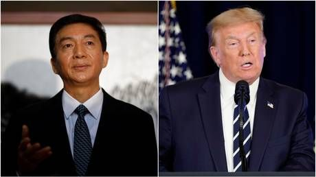 'Maybe I should send Trump $100 for asset freeze': Chinese official mocks Washington over Hong Kong sanctions
