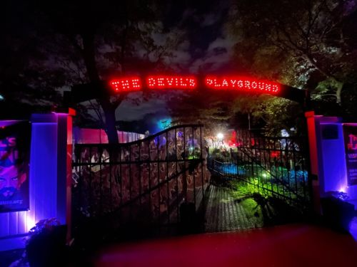 Chicagoland's Halloween Houses: The Devil's Playground in Flossmoor