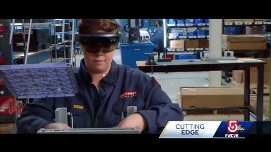 Cutting Edge: Defense company using augmented reality in new ways