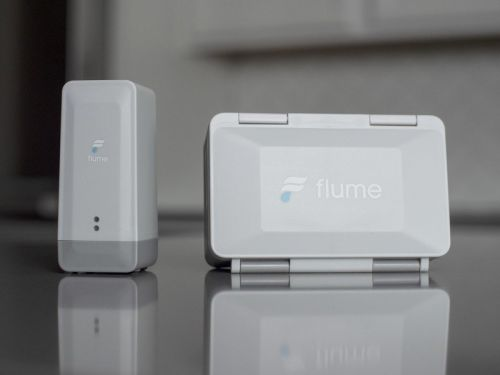 Flume 2 helps conserve water and prevent home flooding from burst pipes
