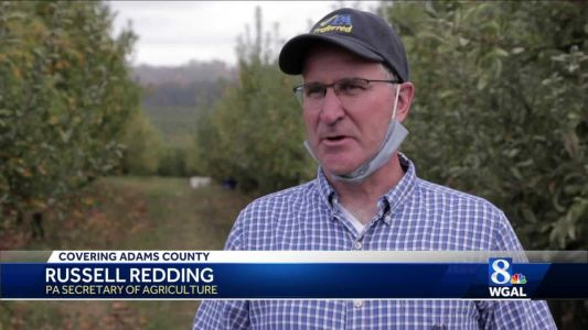Pennsylvania Department of Agriculture joins apple gleaning to provide excess harvest to those in-need