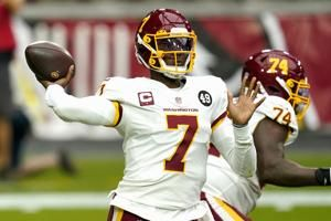 Former Washington QB Haskins signs deal with Steelers
