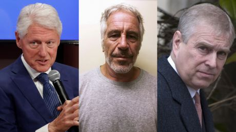 'Now get Clinton and Prince Andrew,' says Rose McGowan, after tweeting pic of Weinstein, Epstein & Maxwell