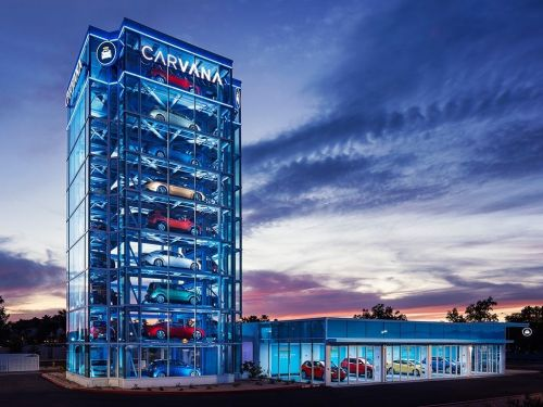 Carvana sells used cars online so you can skip the dealership and have the car delivered right to your door
