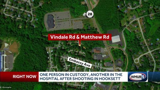 Shooting in Hooksett leaves one injured, one person in custody