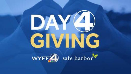 WYFF 4 and Safe Harbor raise $76,500 in 'Day 4 Giving' virtual telethon