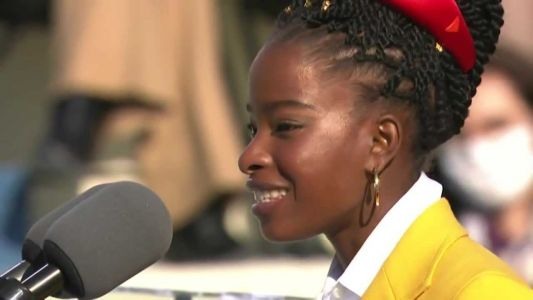 Nation's first 'youth poet laureate' Amanda Gorman reads her poem at President Biden's inauguration