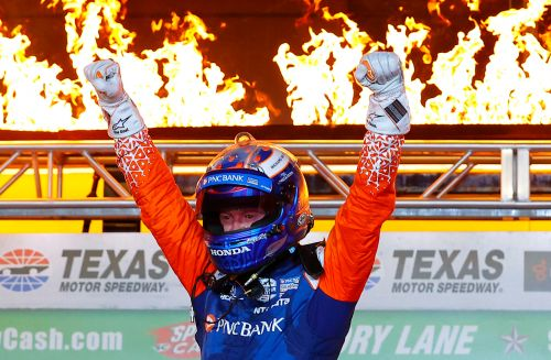 Scott Dixon wins again at Texas in IndyCar's delayed season opener