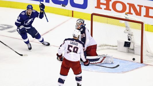 Seth Jones' minutes, Joonas Korpisalo's saves & more crazy numbers from the Lightning-Blue Jackets 5-OT thriller