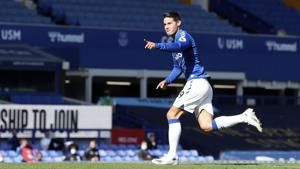 Calvert-Lewin, Rodriguez star as Everton beats West Brom 5-2