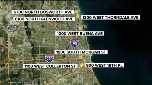 Chicago police warning public after several armed robberies