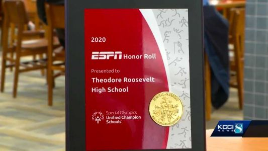 Roosevelt earns ESPN's Special Olympics Unified Champion School Recognition