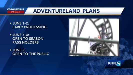 Adventureland Park announces plans to reopen in phases