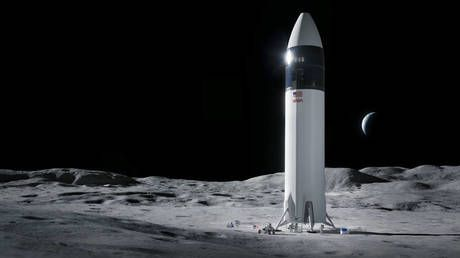 Musk to the Moon! SpaceX gets NASA contract to develop & build Artemis lunar lander