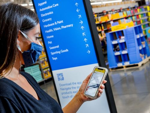 Walmart is overhauling 200 of its stores into an airport-inspired theme expected to perfectly blend the online and in-store shopping experience