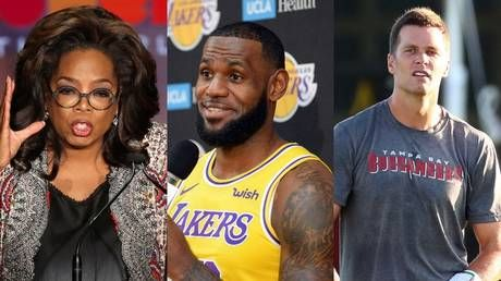 Poll asks whether you'd be more willing to take anti-Covid vaccine if recommended by.Oprah, LeBron, or Tom Brady