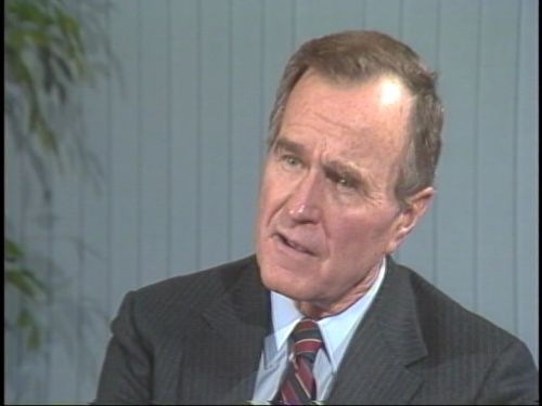 New Hampshire Primary Archives: 1988 interview with George H.W. Bush