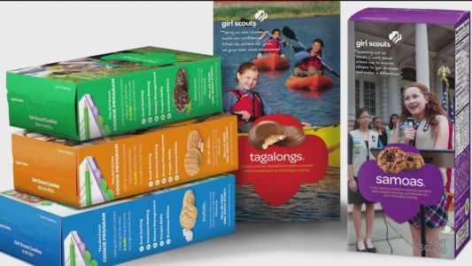 9-year-old Canadian cashes in on long lines for pot, sells out Girl Scouts cookie supply