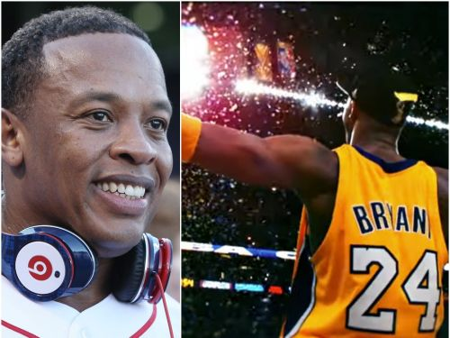 Dr. Dre paid tribute to Kobe Bryant with a musical montage of the NBA star's career and a remodeled 'Kobe Center'