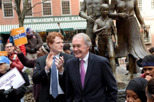 Joe Kennedy-for-Senate backers mount drive to drum out Ed Markey