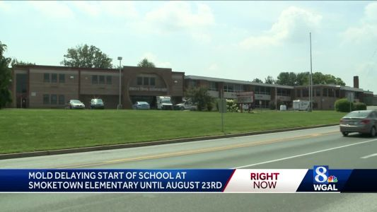 Mold pushes back start of school at Lancaster County elementary school