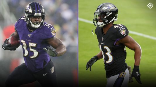 Ravens RB depth chart: Mark Ingram, J.K. Dobbins COVID-19 cases mean Gus Edwards, Justice Hill feature vs. Steelers